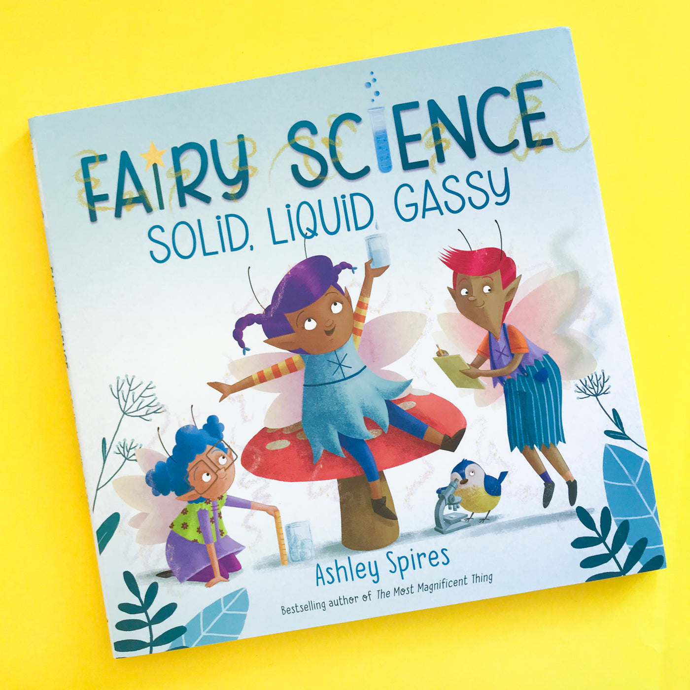 Fairy Science: Solid, Liquid, Gassy by Ashley Spires