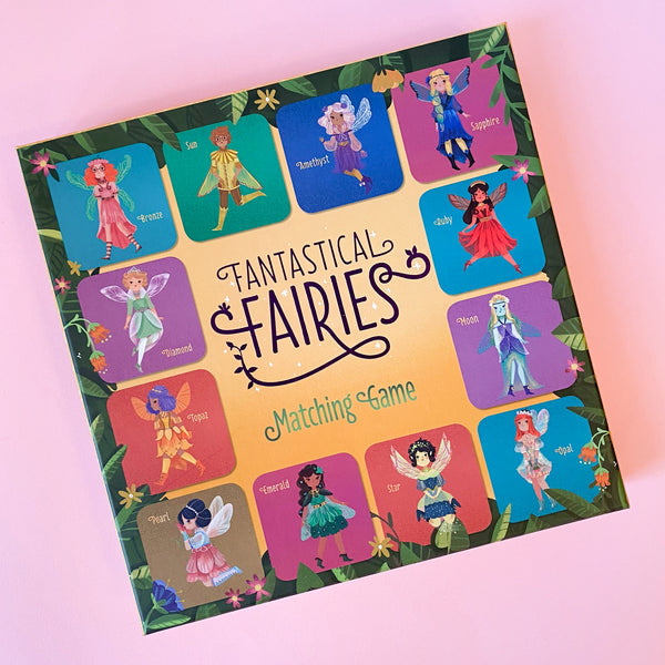 Fantastical Fairies Matching Game from Chronical books
