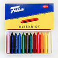 Set of 12 Coloring Crayons from Filia