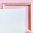 "Wood Framed Blank Canvas 10"" x 10"" Primed"