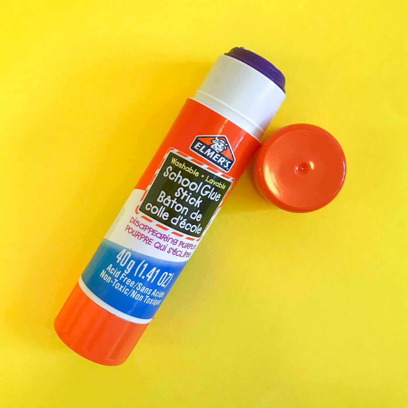 Glue Stick Washable Elmers School Glue 40g