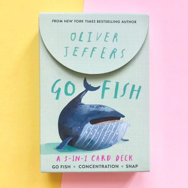 Go Fish 3 in 1 Deck by Oliver Jeffers