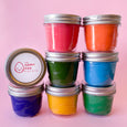 The Happy Egg Play Kits with single colors of Handcrafted play dough
