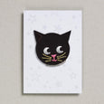 Black Cat iron on patch