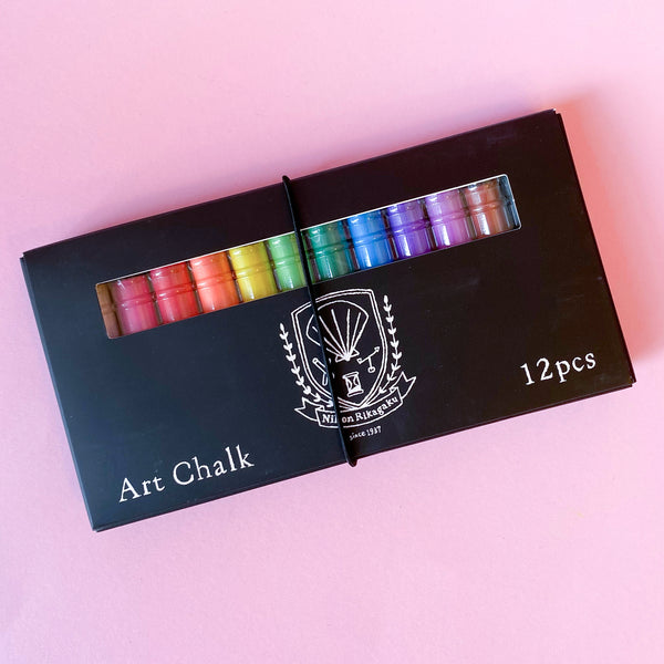 Kitpas Art Chalk in 12 colors