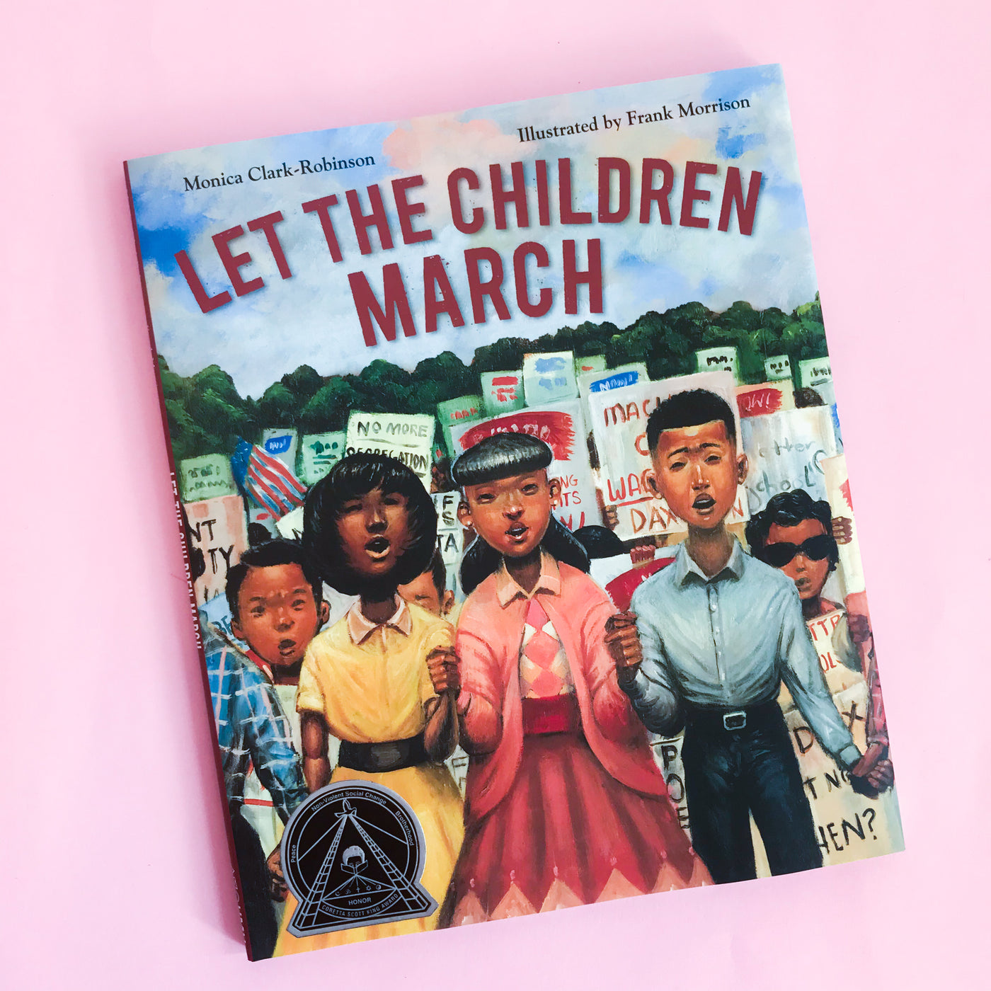 Let The Children March by Monica Clark-Robinson and Frank Morrison