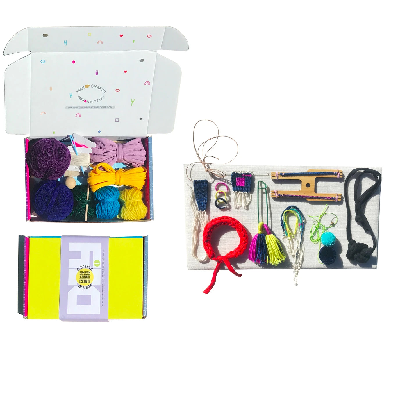 Loome Kit with 5 Crafts in a Box