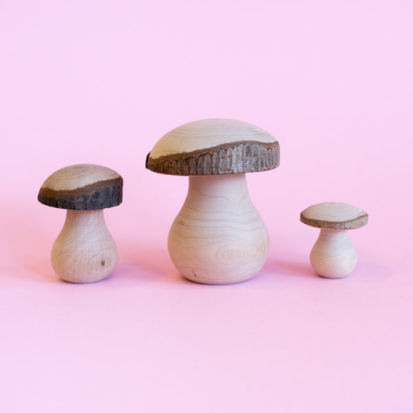 Mushrooms Handmade Wooden