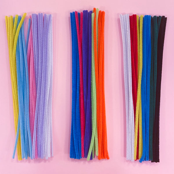 Pipe Cleaners in Various Colours
