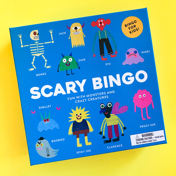 Scary Bingo: Fun with Monsters and Crazy Creatures Game