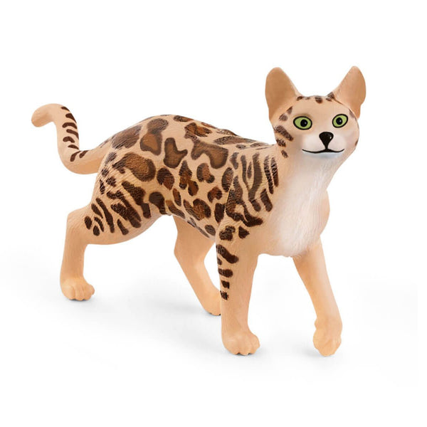 Schleich Farm World Bengal Cat Toy Figurine