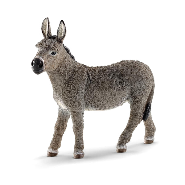 Schleich Farm World Donkey Toy Figurine
