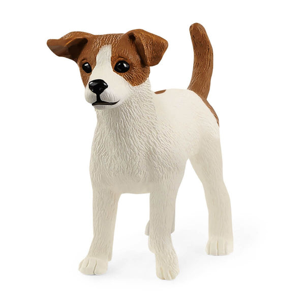 Schleich Farm World Jack Russell Terrier Toy Figurine