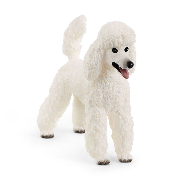 Schleich Farm World Poodle Toy Figurine