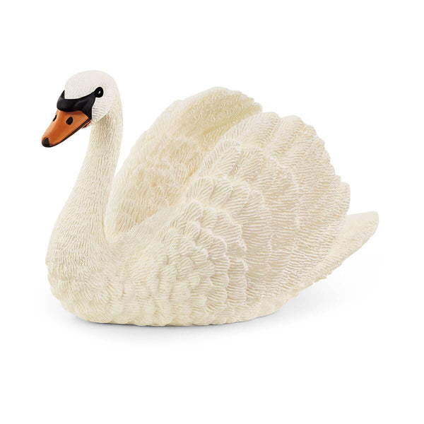 Schleich Farm World Swan Toy Figurine
