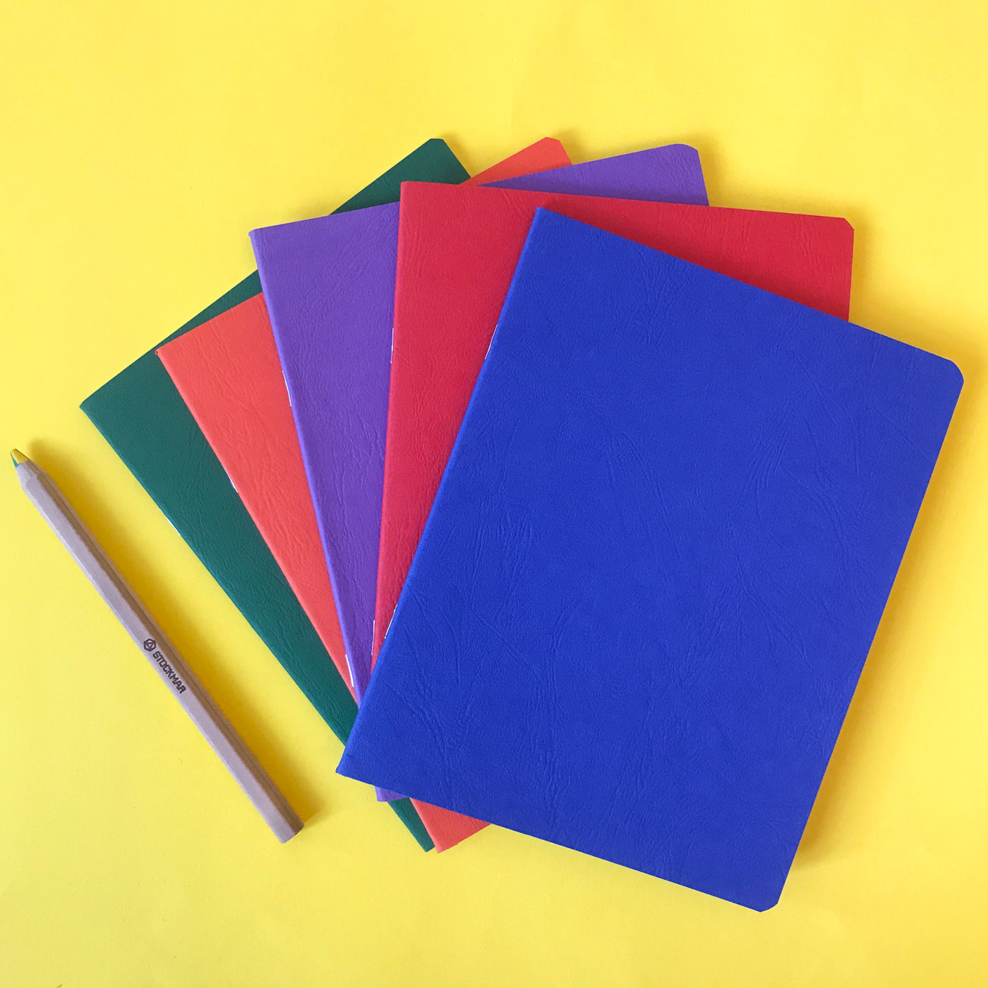 Blank sketch books to write, draw or collage in.