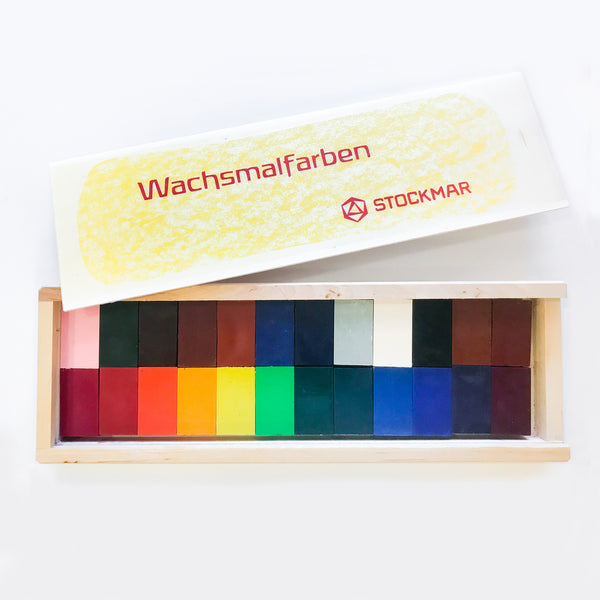Stockmar Wax Block Crayons Set of 24