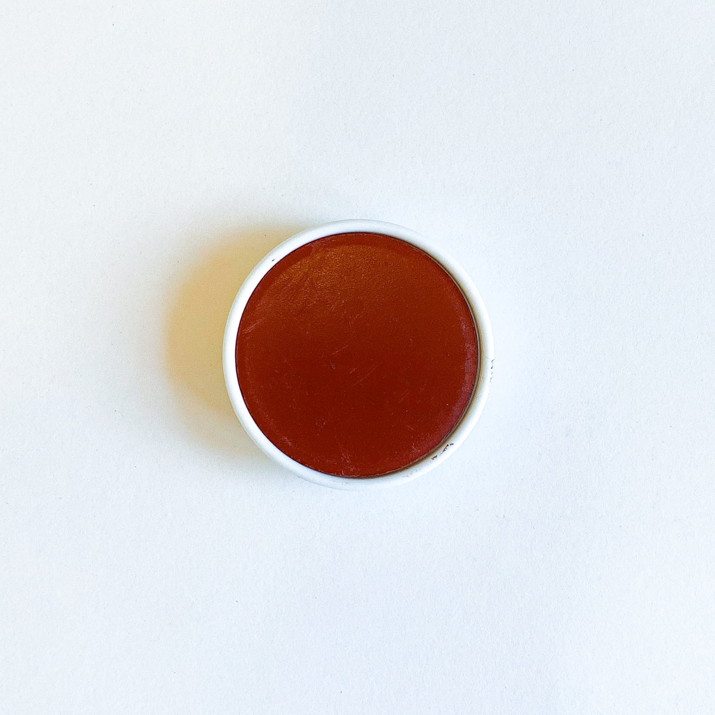 Stockmar Single Watercolor Replacement Puck in Rust Color