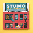 Studio A Place For Art To Start Book by Emily Arrow