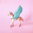 Unicorn Pegasus Foal with blue wings from Schleich
