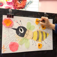 Virtual Art Class for Kids inspired by The Honeybee book