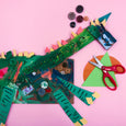 "Mini Make Online Art Class inspired by ""The Girl and the Dinosaur"""