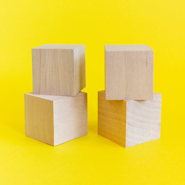 Wooden Blocks set of 4