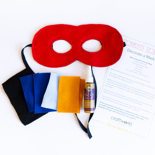 Wool Felt Mask Kit