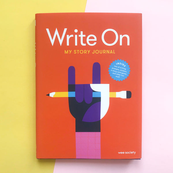 Write On My Story Journal by Wee Society