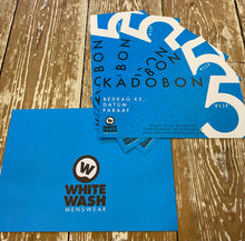 Afbeelding in Gallery-weergave laden, White Wash Menswear 5 Euro Kadobon