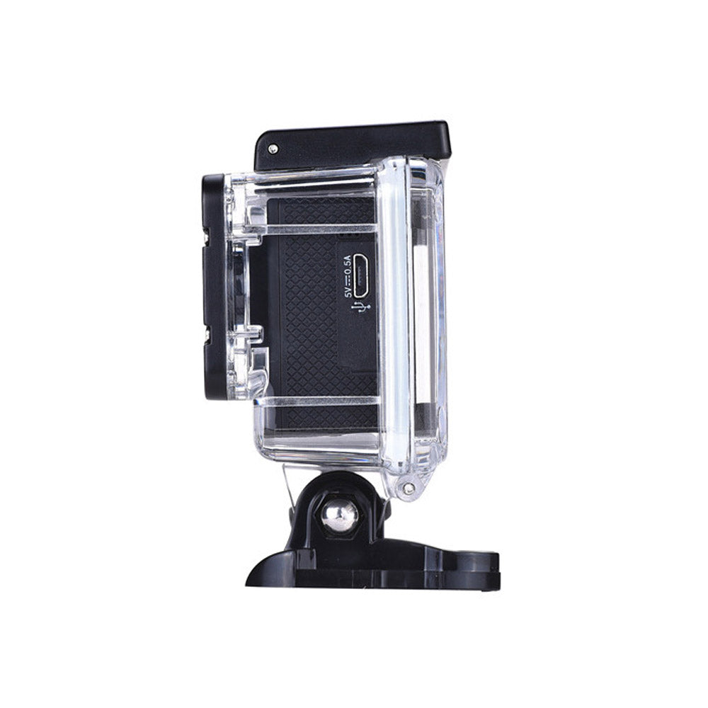 4k Interpolated HD UltaCam Waterproof Action Camera with Accessories - bitmore.co.uk