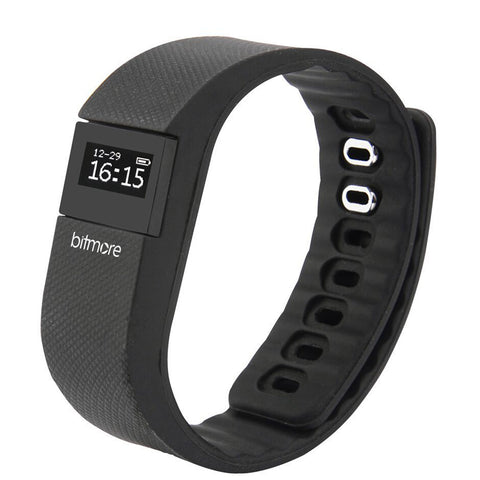 Bitmore® Pro Fitness Tracker with Heart Rate Monitor & App