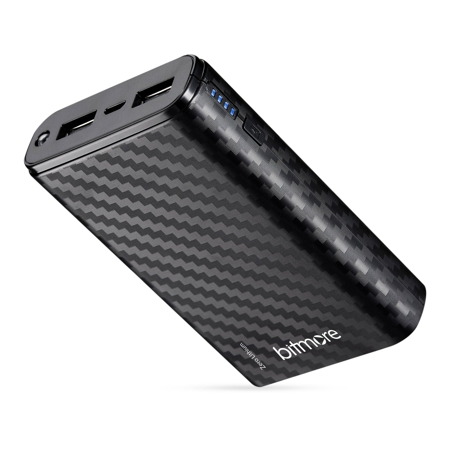 Bitmore® Travel Safe Non Lithium Battery 8000mAh Power Bank - bitmore.co.uk
