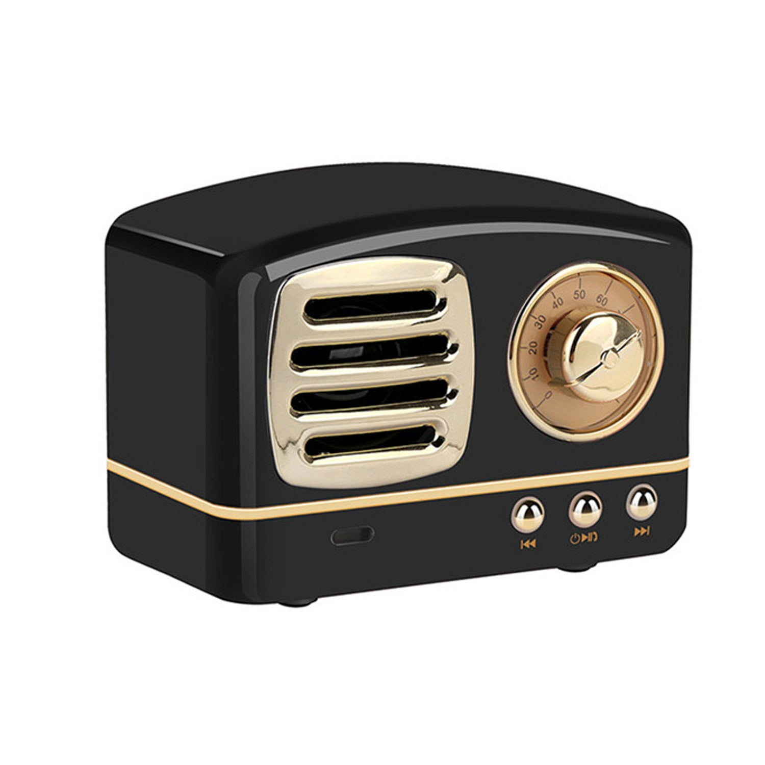Bitmore® Retro™ Wireless Bluetooth Speaker with FM Radio - bitmore.co.uk
