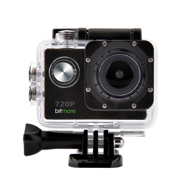 720P HD ActivCam Waterproof Action Camera with Accessories + 4GB Memory Card - bitmore.co.uk