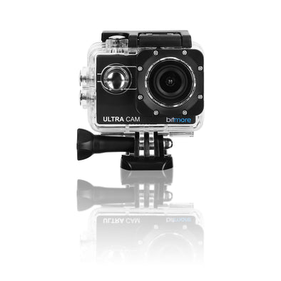 4K Interpolated HD UltraCam Waterproof Action Camera with Accessories + 8GB Micro SD