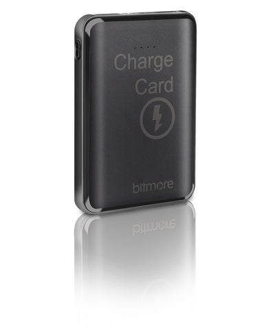Bitmore® 5000mAh ChargeCard™ Power Bank with 3 in 1 cable