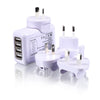 Bitmore® Travel Charger - 4 port USB Hub Adapter