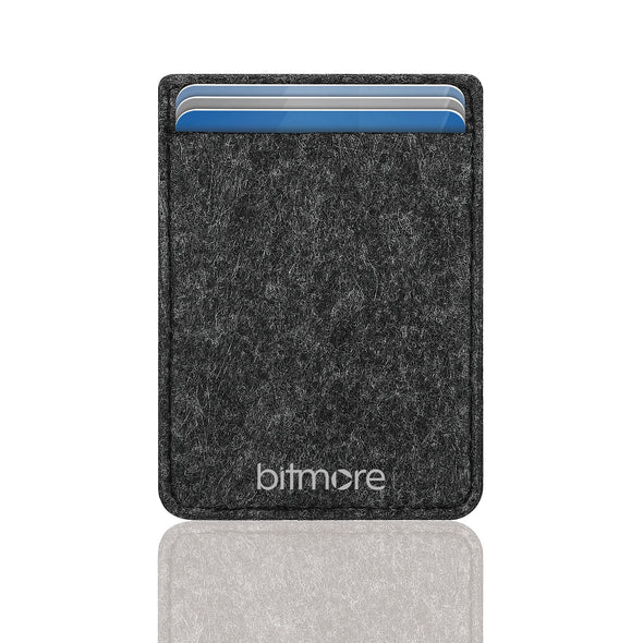 RFID Felt card holder - bitmore.co.uk