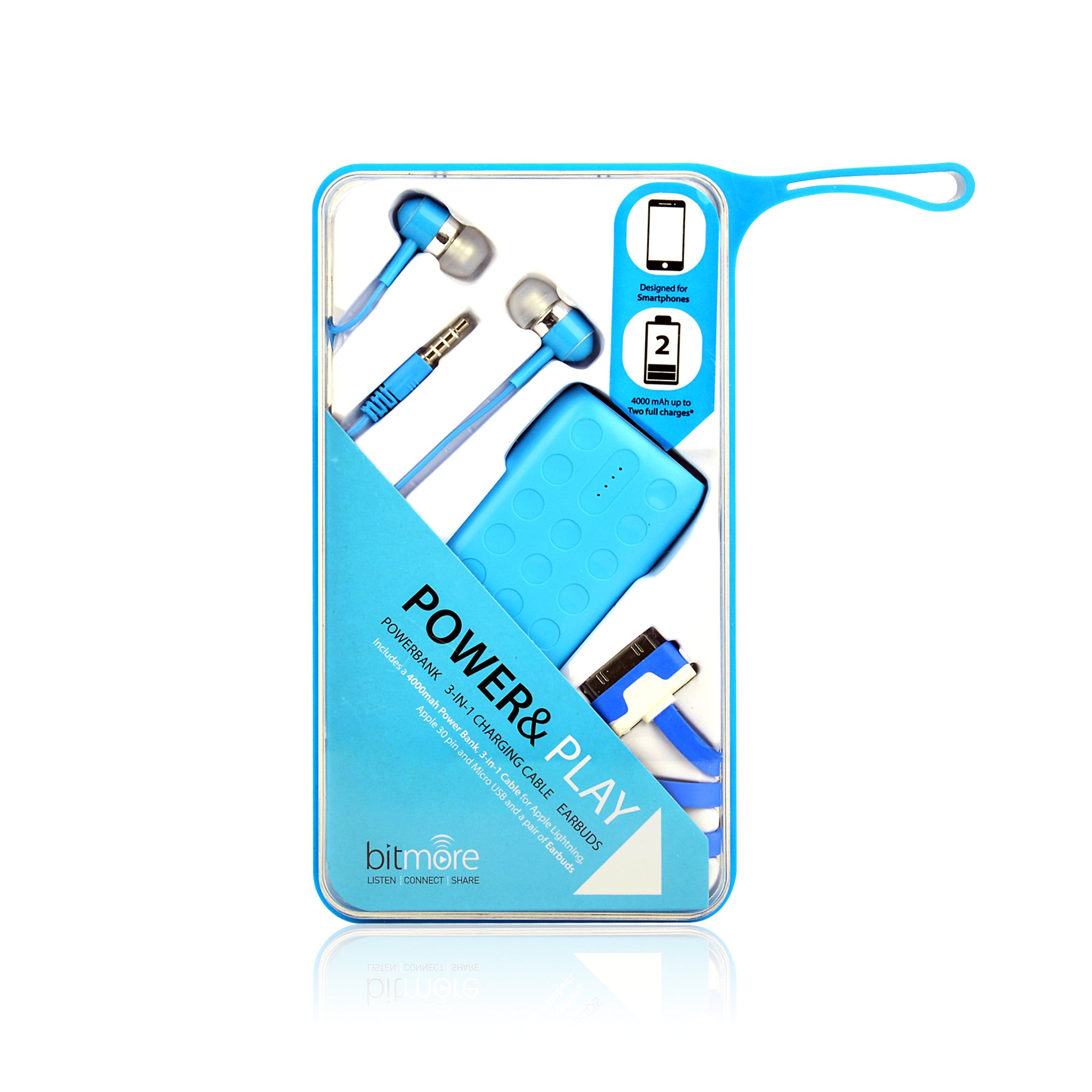 Bitmore® Power™ 4000mAh 3 in 1 Powerbank Set - bitmore.co.uk