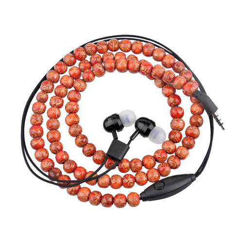 Bitmore® Jewel™ In-Ear Headphones- Rosemary Beads - bitmore.co.uk