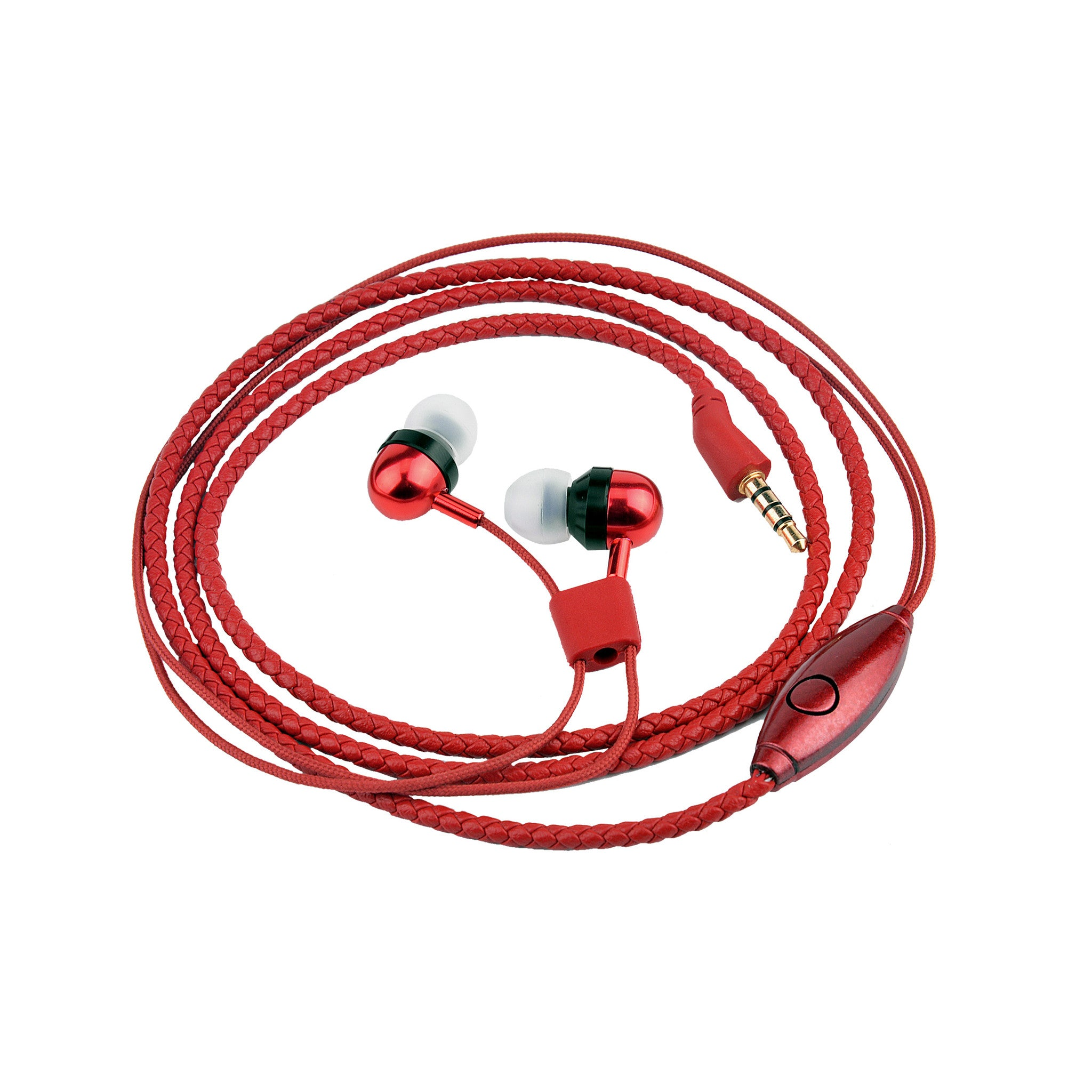 Bitmore® Jewel™ In-Ear Headphones - PU Leather - bitmore.co.uk