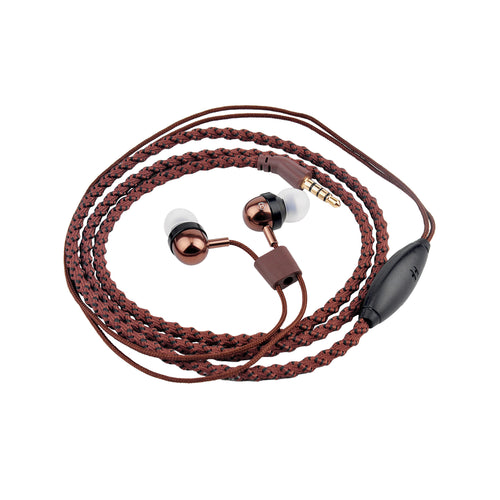 Bitmore® Jewel™ In-Ear Headphones - Braided Woven - bitmore.co.uk