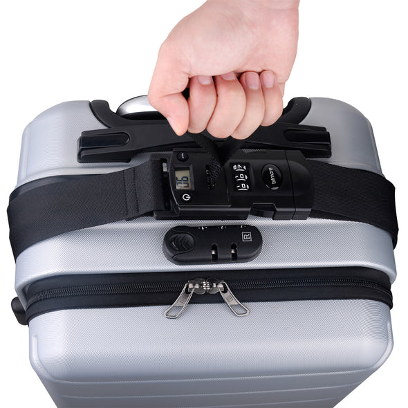 Bitmore® TravelCare™ Cipher Lock LUGGAGE STRAP (BM-H001) - bitmore.co.uk