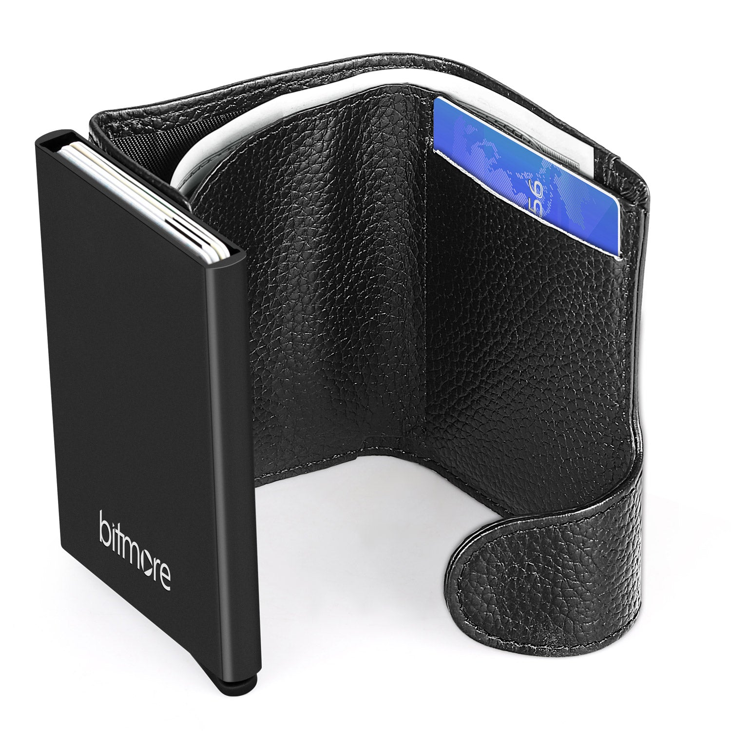 Bitmore® Secure™ RFID Protected Wallet - bitmore.co.uk