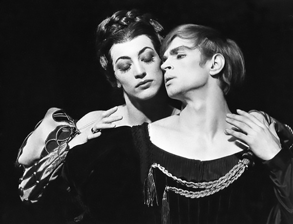 Monica Mason and Rudolf Nureyev