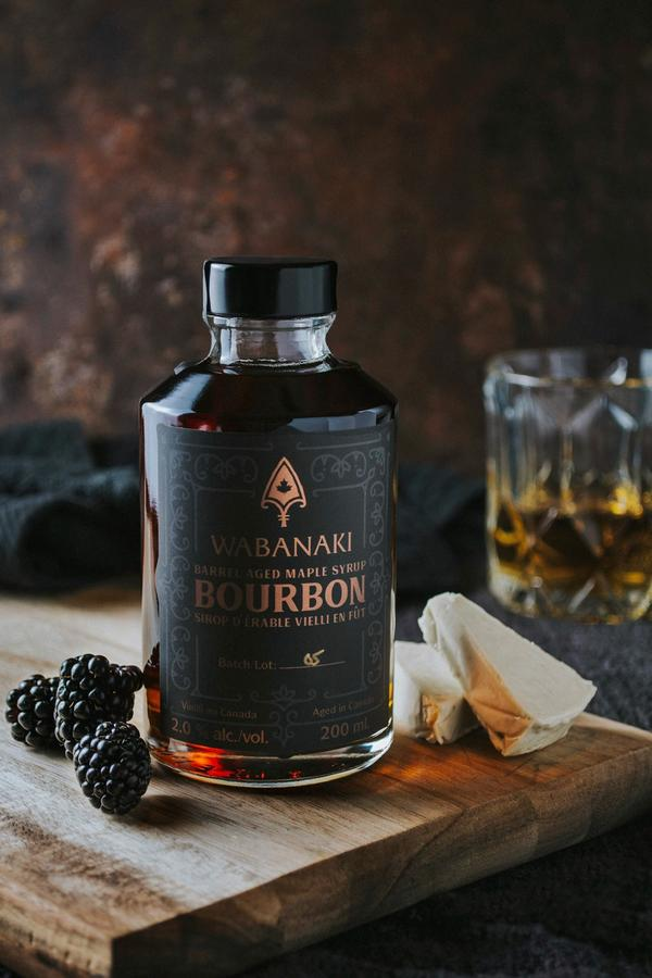 Barrel-Aged Maple Syrup - Bourbon