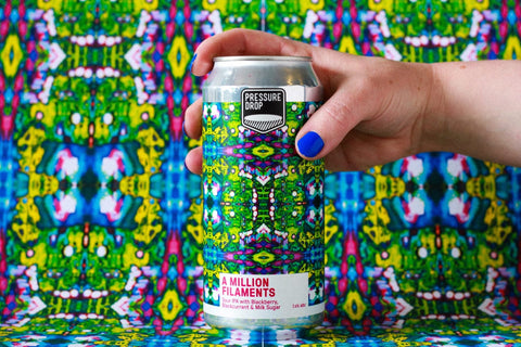 A Million Filaments 7.2% Sour IPA with Blackberry, Blackcurrant & Mosaic