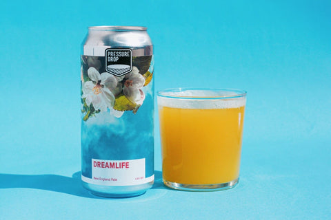Dreamlife 4.6% Amarillo, Mandarina Bavaria and Nelson Sauvin DDH Pale