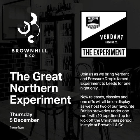 The Great Northern Experiment- Thursday 5th December